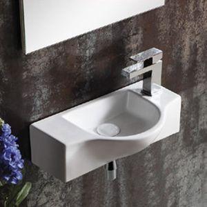 lave main rectangulaire achat vente lave main rectangulaire pas cher soldes d s le 10. Black Bedroom Furniture Sets. Home Design Ideas
