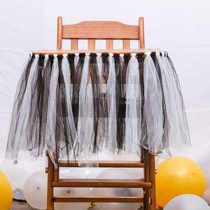 496f9fcb077f9 PACK ACCESSOIRES PHOTO Tutu Tulle Table Jupes Chaise Haute Décor Fête D a