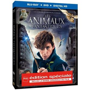 BLU-RAY FILM Les Animaux Fantastiques Bluray + DVD Edition Spéc