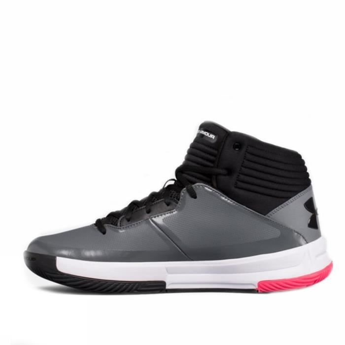 UNDER ARMOUR Chaussures de basketball Lockdown 2 - Gris