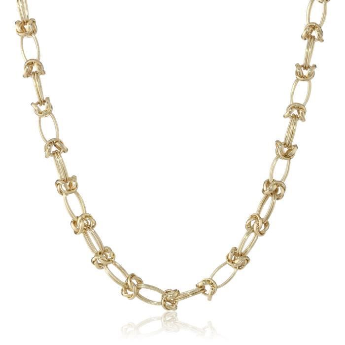 1928 Signature Gold Gold-tone Link Chain Necklace, 16.5 E007H