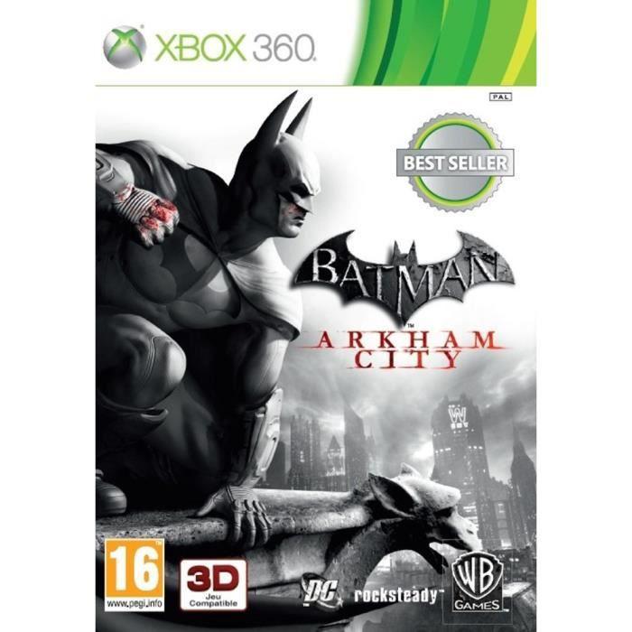 JEUX XBOX 360 Batman Arkham City Jeu Xbox 360