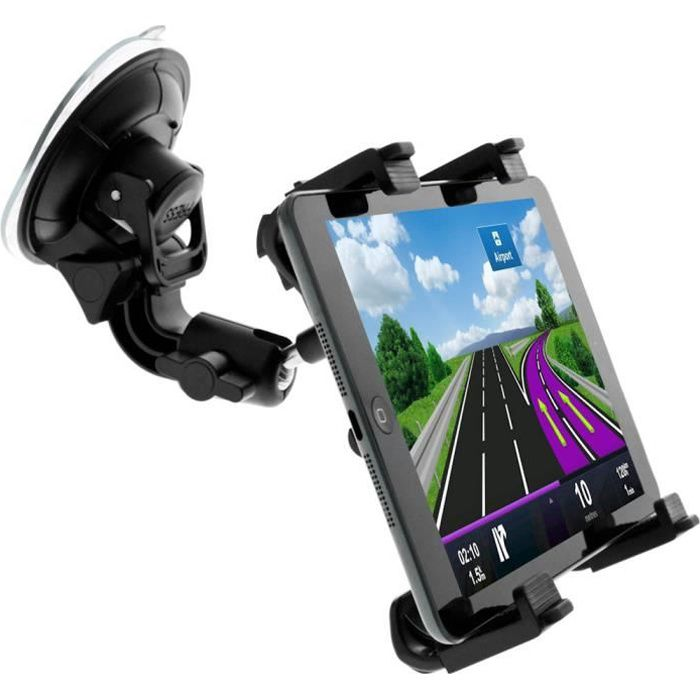 support voiture pour tablette 7 11 pouces fixation. Black Bedroom Furniture Sets. Home Design Ideas