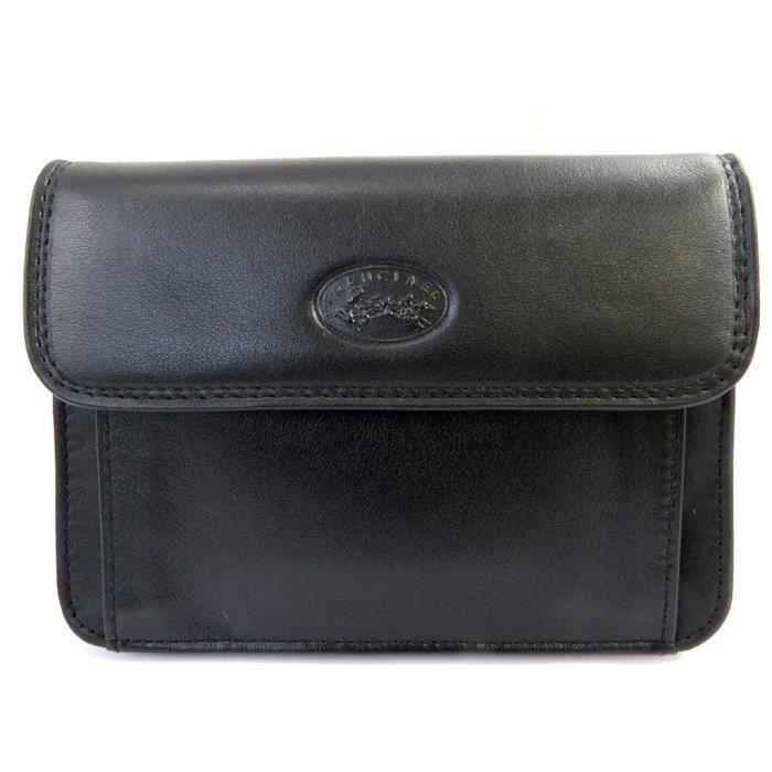 Porte-monnaie ceinture cuir