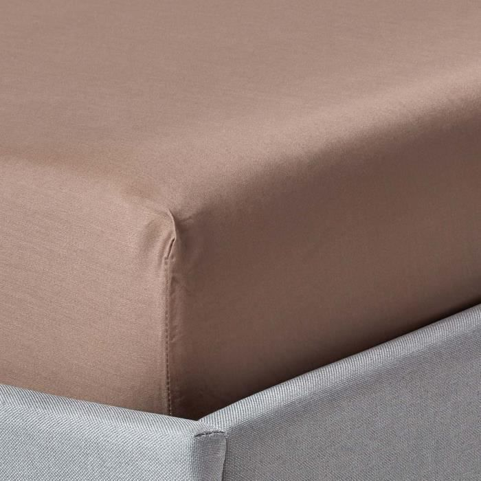 Drap-housse matelas épais 180 x 200 cm coton