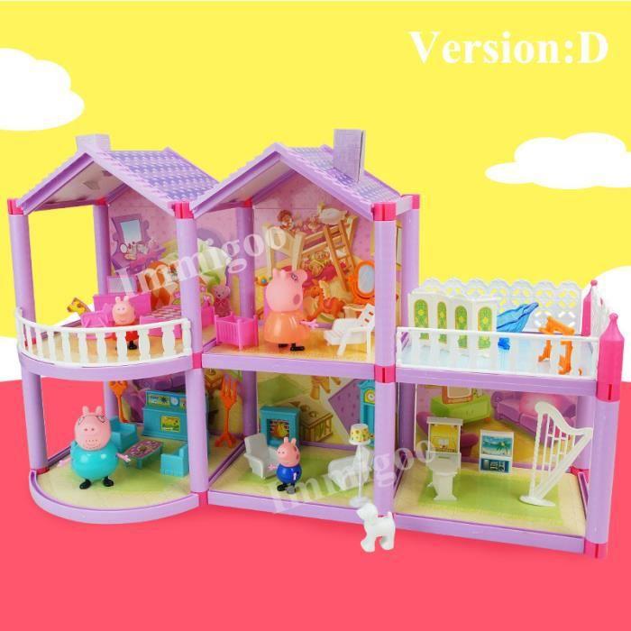 maison peppa pig achat vente jeux et jouets pas chers. Black Bedroom Furniture Sets. Home Design Ideas
