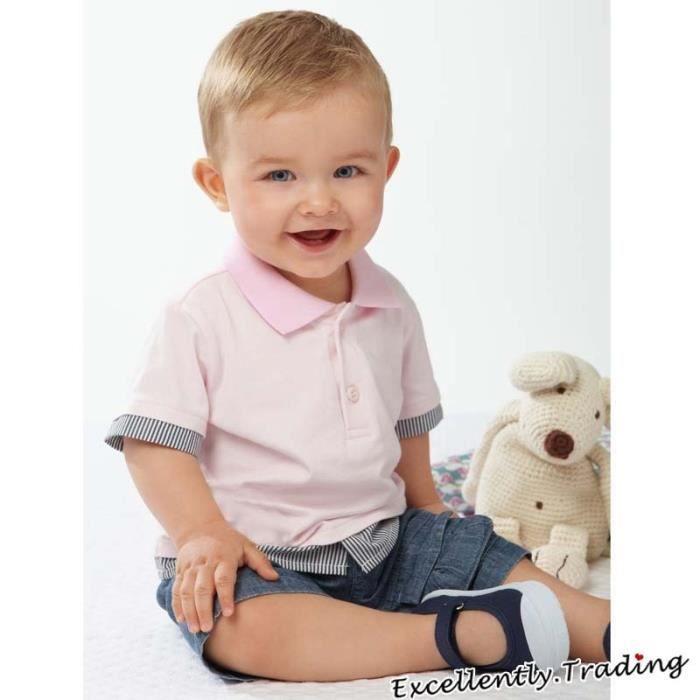 2 4 ans tenue enfant gar on t shirt manches courtes 2pcs ensemble de v tements polo short. Black Bedroom Furniture Sets. Home Design Ideas