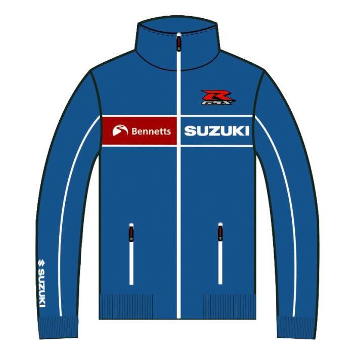 Gsxr Gsx R Endurance Suzuki Moto Officielle Gp Superbike Veste Bleu Tw76aqx
