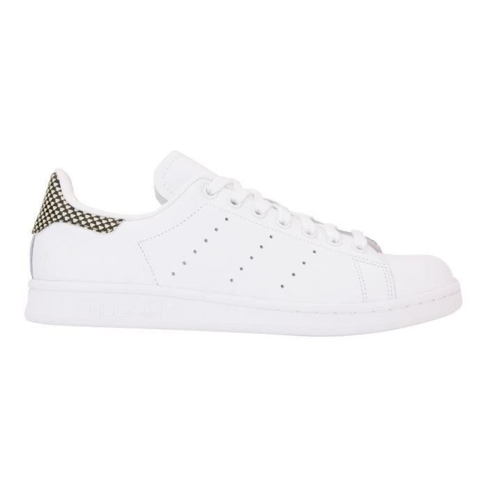 Adidas Smith Originals BlancNoir Et Femme Stan Chaussures Baskets eBodrCx