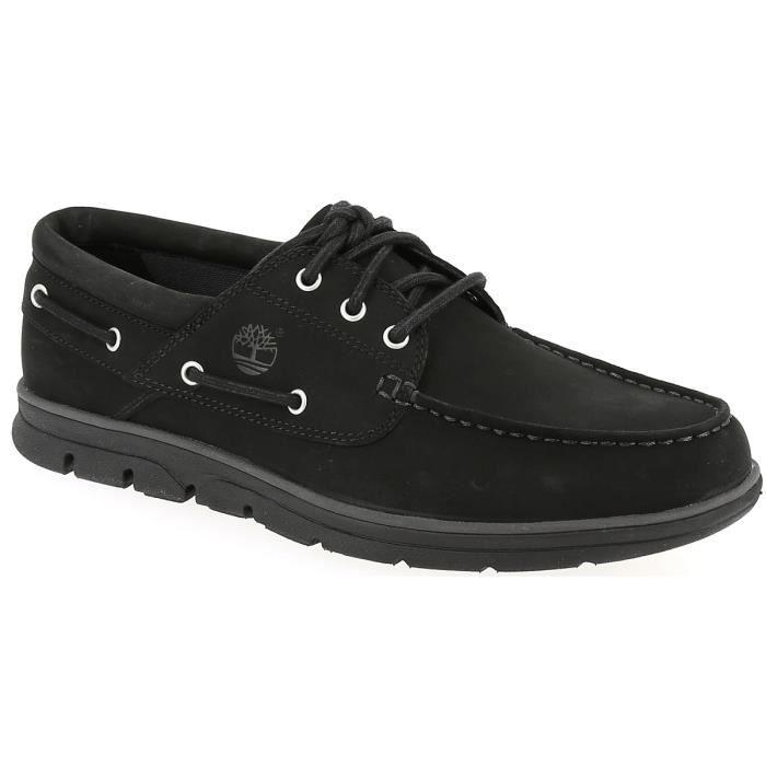 Chaussures bateau - TIMBERLAND BRADSTREET 3 EYE 43 Noir