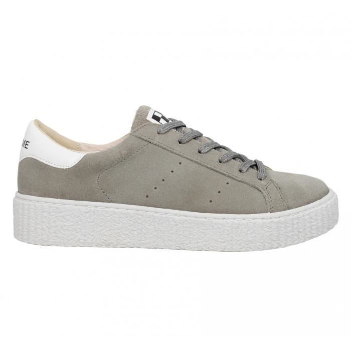 Baskets NO NAME Picadilly Sneaker suede Femme-36-Perle