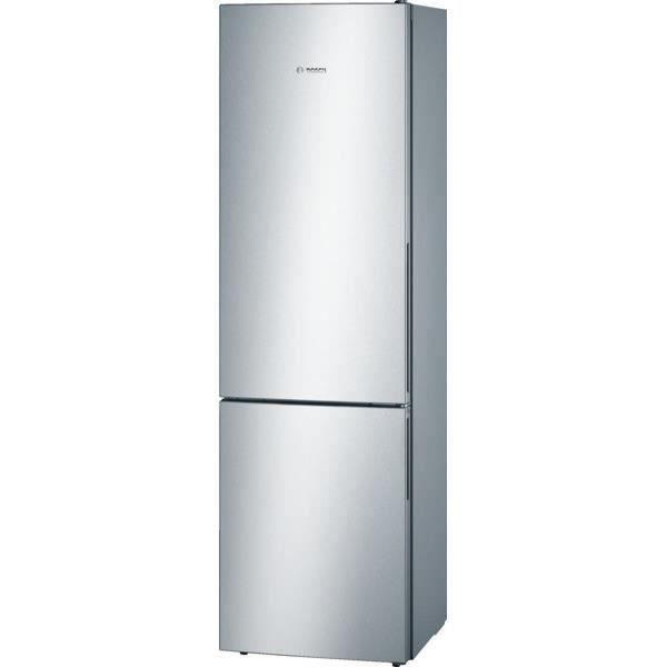 BOSCH KGV39VL31S - Réfrigérateur congélateur bas - 344L (250+94) - Froid brassé - A++ - L 60cm x H 2