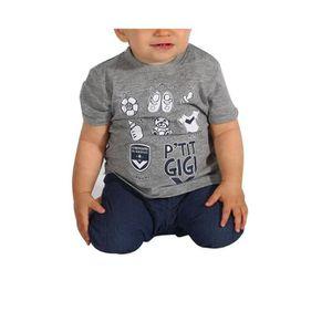 d5c923fdff T-SHIRT FCGB Tee shirt Ptit Gigi gris - Bébé - Gris