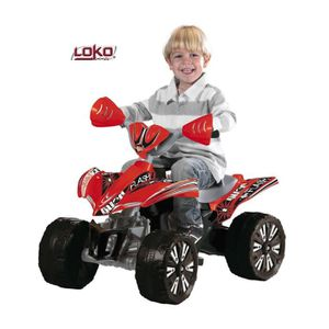 QUAD - KART - BUGGY Quad électrique enfant rouge 6 Volts