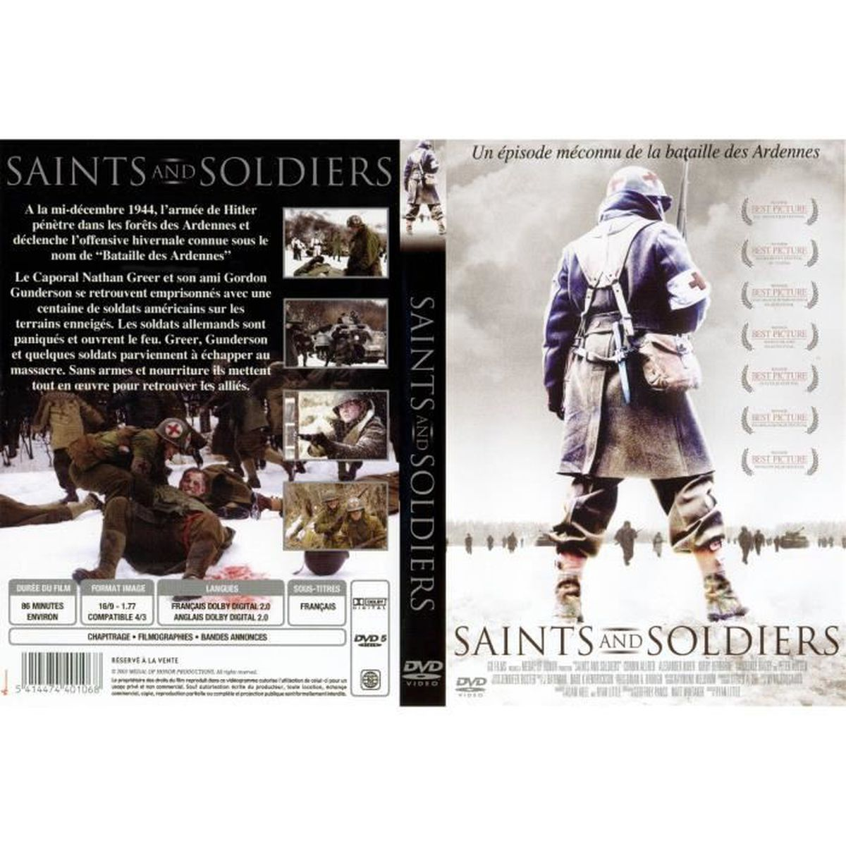 DVD FILM SAINTS AND SOLDIERS