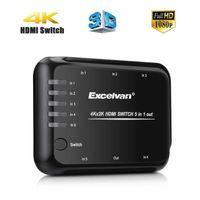 REPARTITEUR TV Excelvan 5 en 1 Sortie HDMI Commutateur Switcher a