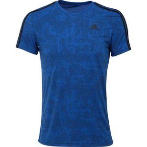 ADIDAS T-shirt ESS 3S AOP - Homme - Bleu