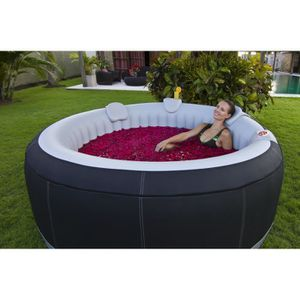SPA COMPLET - KIT SPA Ospazia - Spa gonflable Luxe 4 personnes