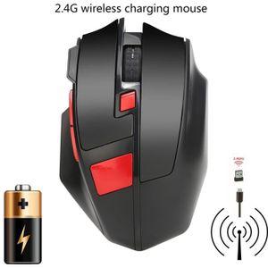 SOURIS Rechargeable sans fil 1600dpi Gaming Mouse 2.4G Ba