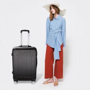 VALISE - BAGAGE 24 pouce Grande valise trolley tour avec serrure à