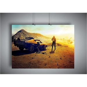 AFFICHE - POSTER Poster MAD MAX FURY ROAD Art - A4 (21x29,7cm)