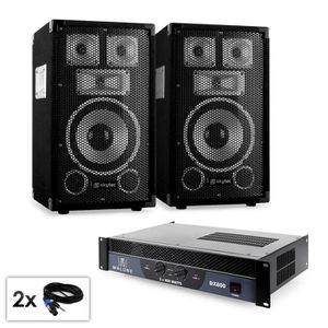 PACK SONO Electronic-star Pack sono complet pour DJ pro & di