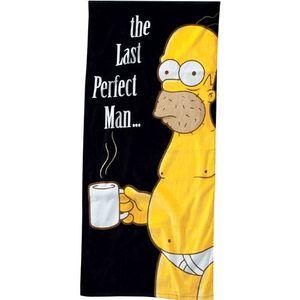 SERVIETTE DE PLAGE Serviette Plage Simpsons