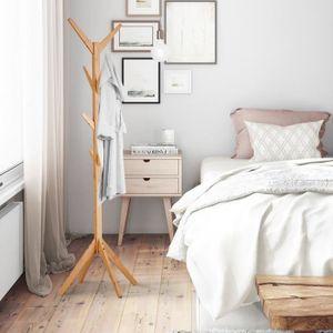 porte manteau sur pied bois achat vente pas cher. Black Bedroom Furniture Sets. Home Design Ideas
