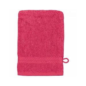 GANT DE TOILETTE Gant de toilette 16 x 22 cm en Coton couleur Ro…