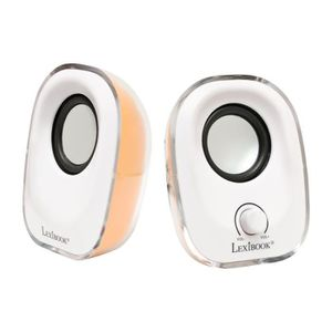 ENCEINTES ORDINATEUR Lexibook Usb Speakers Mfa210 Enceintes Pc - Statio