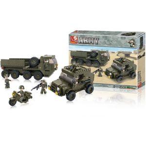 ASSEMBLAGE CONSTRUCTION Briques Compatibles Lego - Construction - Armée -