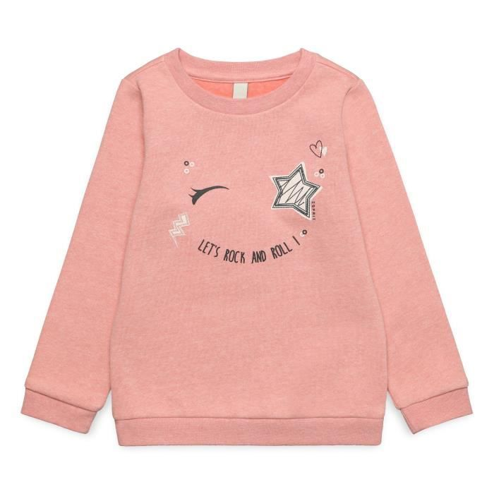 ESPRIT Sweatshirt Vieux Rose Enfant Fille