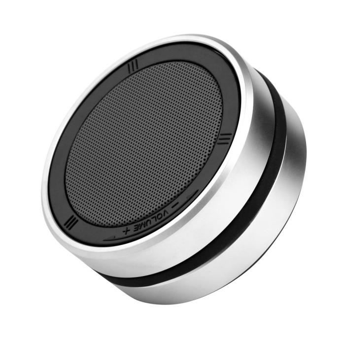 Nouvelle 360 ° Type De Rotation Portable Sans Fil Super Bass Dj Haut-parleur Stéréo Bluetooth @bat7311
