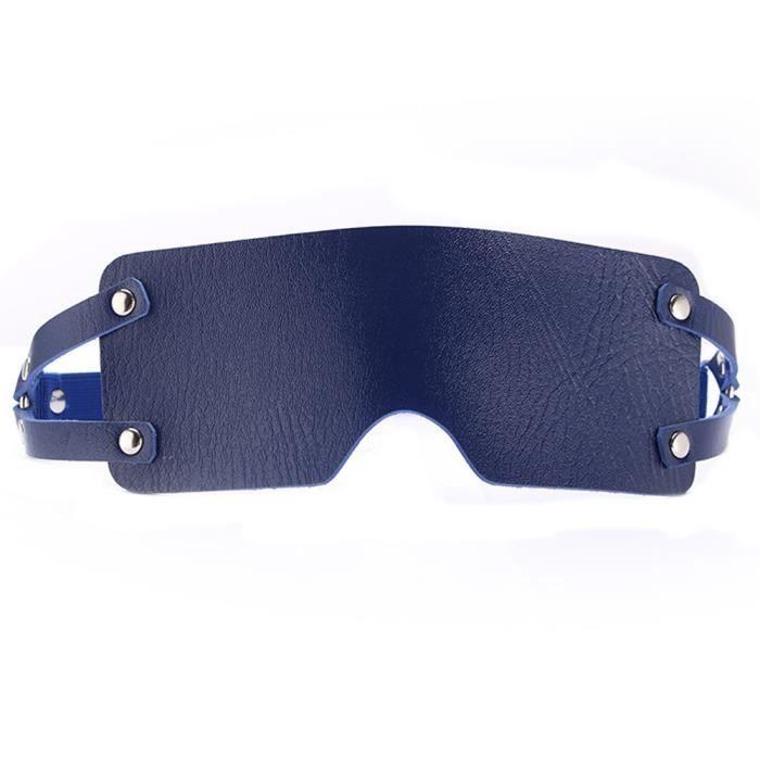 e6273428b47e32 Hotskynie®SM lunettes oeil patch visière adulte sexe masque de jeu lunettes  de soirée cosplay WZY4002506