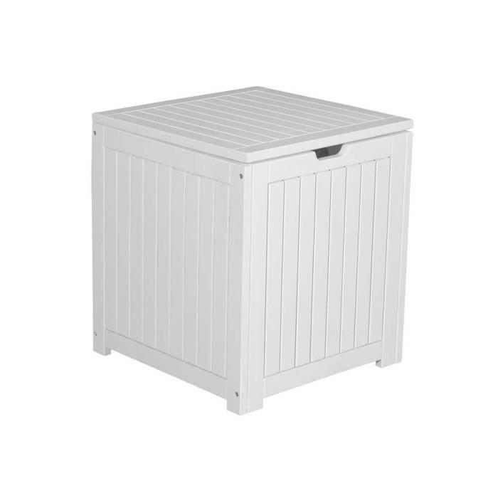 banc coffre de rangement pas cher banc coffre rangement pliable blanc pm xx cm with banc coffre. Black Bedroom Furniture Sets. Home Design Ideas