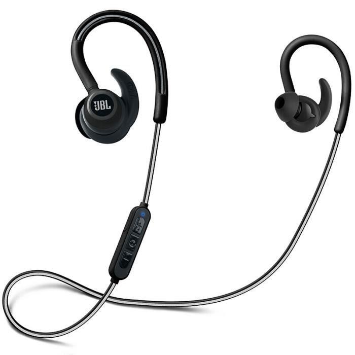 Écouteurs De Sport Sans Fil Bluetooth Jbl Reflect Contour-noir