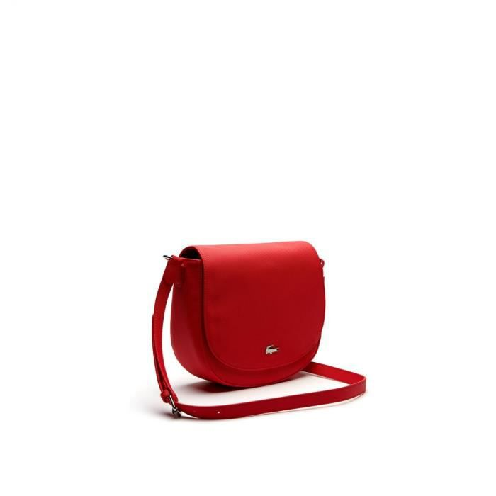 47239dc053 Lacoste - Sac crossover Daily classic (nf1898dc) teaberry 949 taille 18 cm  - Achat / Vente Lacoste - Sac crossover Daily - Cdiscount