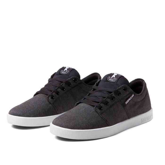 Shoes SUPRA STACKSBLACK HERRIN... DQblNP5KI