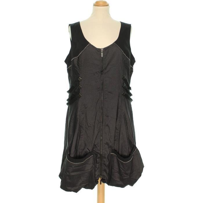 la moitié fcce4 5acb8 Robe PATRICE BREAL 46 #1133398 Marron - Achat / Vente robe ...