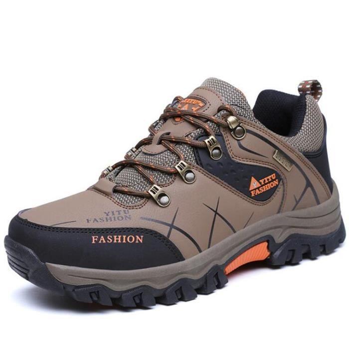 Chaussures De RandonnÉE En Plein Air Pour Hommes TYS-XZ010Orange39 onvjul