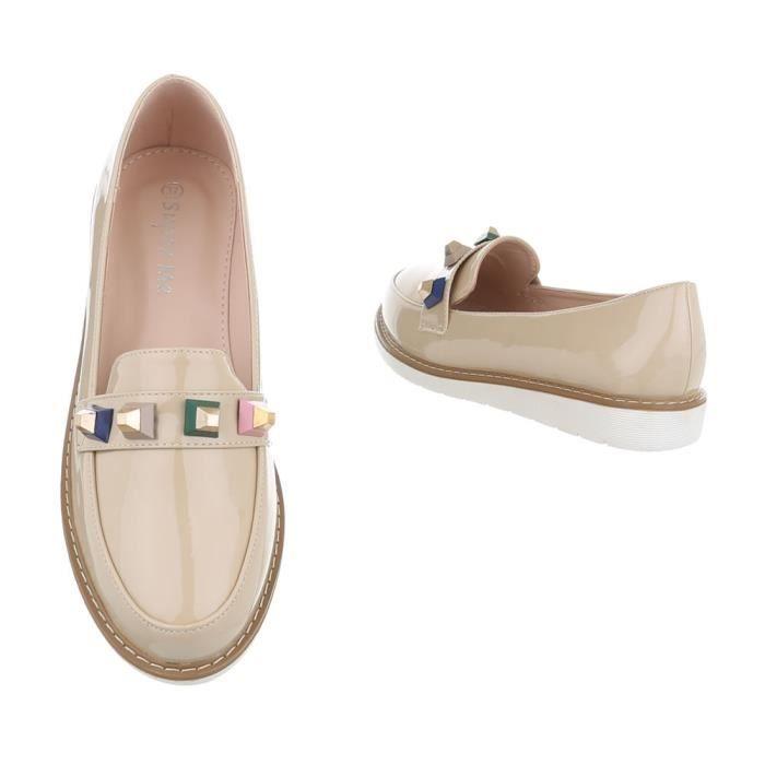 Chaussures femmes flâneurs babouche gris foncé 41 tDSVN1AWzl