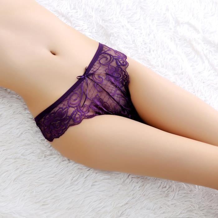 vêtements Slip G violet Sexy Culotte En Lingerie Thongs Dentelle Femmes Free Les Sous string 4gTqxZvq