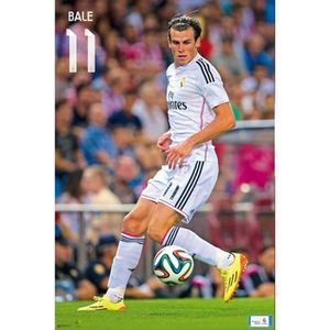 AFFICHE - POSTER Football Poster - Real Madrid, Bale 14/15 (91 x 61