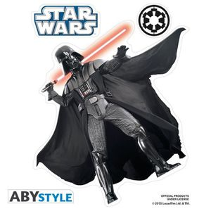 AFFICHE - POSTER STAR WARS Stickers - 16x11cm/ 2 planches - Vador
