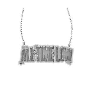 BIJOUX DE PEAU All Time Low Logo officiel Pendant Necklace