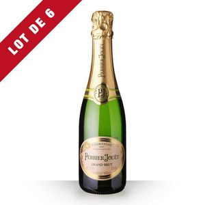 CHAMPAGNE 6x Perrier-Jouët Grand Brut - 6x37,5cl - Champagne
