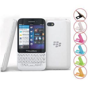 SMARTPHONE Blanc BlackBerry Q5 occasion débloqué remise Grade