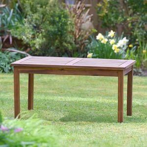 Table basse jardin en bois