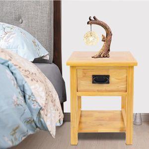 Table de chevet commode meuble chambre à coucher tiroirs table de ...