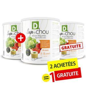 DESSERT MINCEUR Minceur D - Soupe au chou et aux légumes - 2 Achet